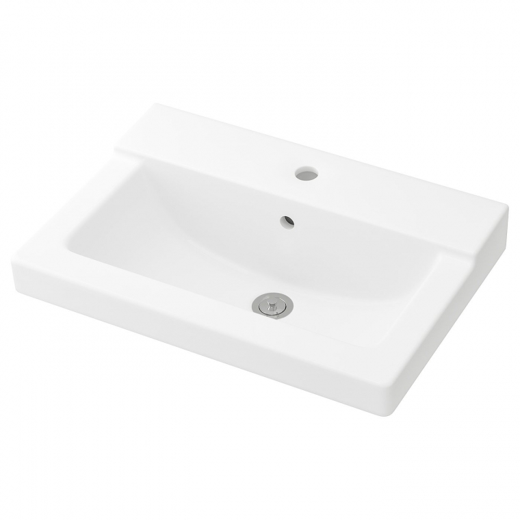 Одинарная раковина IKEA TALLEVIKEN 61x41x8 см (201.964.40)