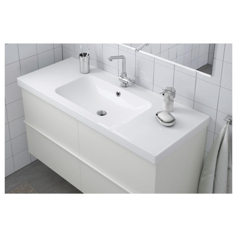 Одинарна раковина IKEA ODENSVIK 123x49x6 см (201.939.41)