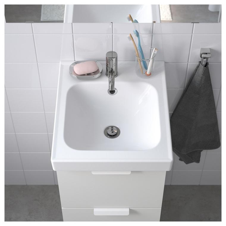 Одинарна раковина IKEA ODENSVIK 43x49x6 см (004.387.94)