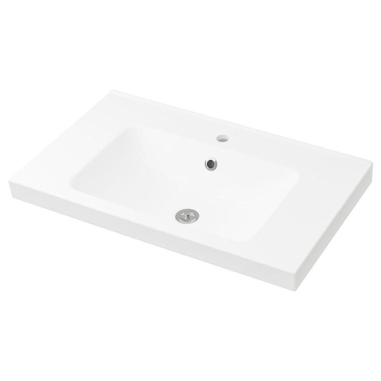 Одинарна раковина IKEA ODENSVIK 83x49x6 см (401.808.05)