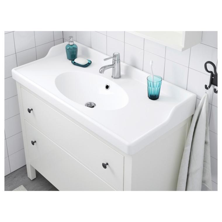 Одинарна раковина IKEA RATTVIKEN 102x49x6 см (702.165.77)