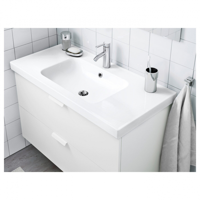 Одинарна раковина IKEA ODENSVIK 103x49x6 см (001.939.37)