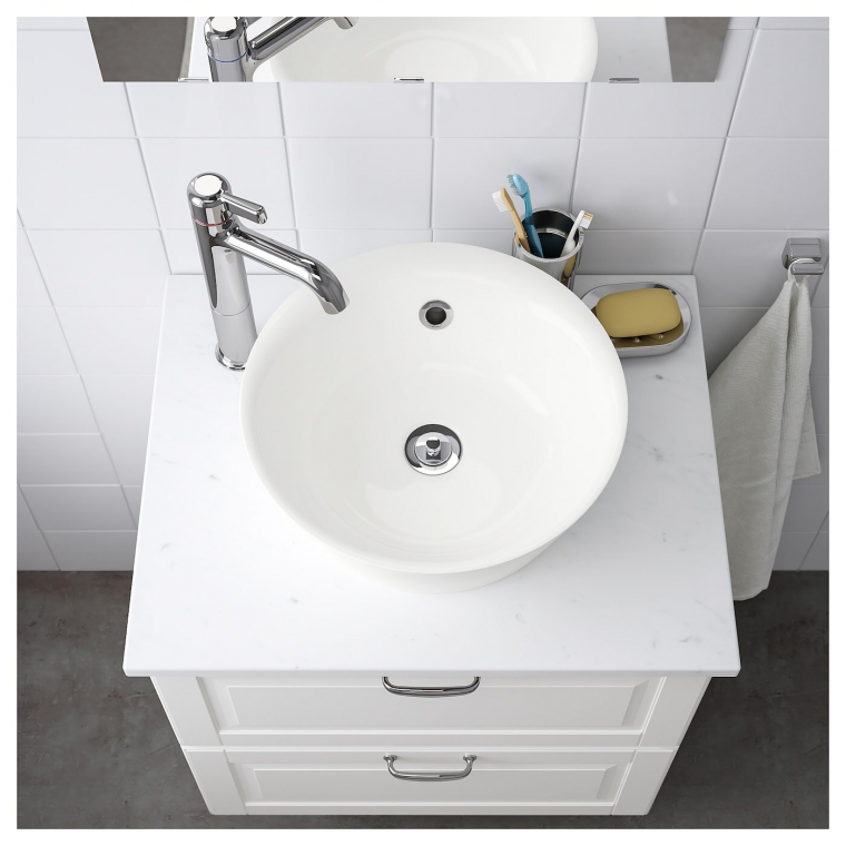 Одинарна раковина IKEA KATTEVIK 40 см (303.589.41)
