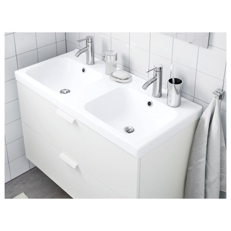 Подвійна раковина IKEA ODENSVIK 103x49x6 см (001.356.12)