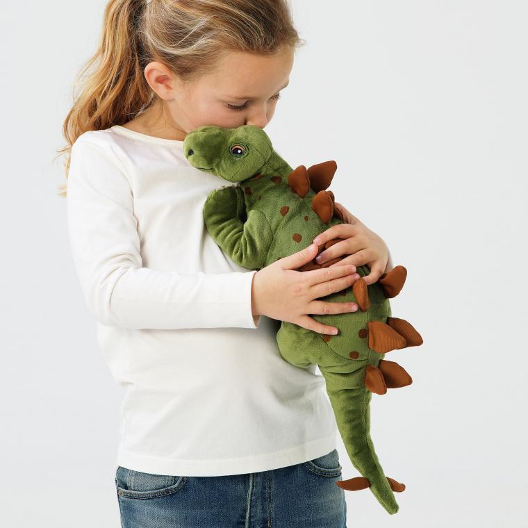 М'яка іграшка IKEA JATTELIK динозавр/стегозавр (404.711.78)