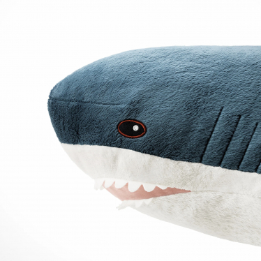 М'яка іграшка IKEA BLAHAJ акула 100 см (303.735.88)