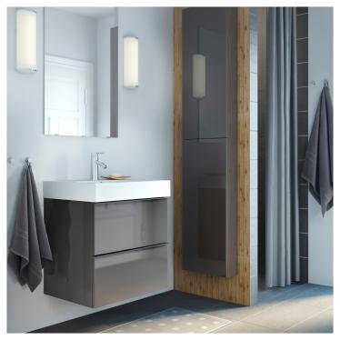 Одинарна раковина IKEA BRAVIKEN 61x49x10 см (301.955.48)