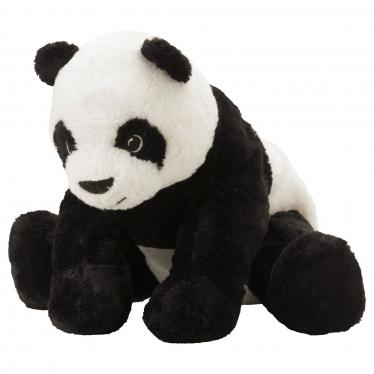 М'яка іграшка IKEA KRAMIG панда/чорно-біла (302.213.16)