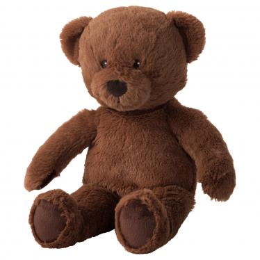 М'яка іграшка IKEA BRUNBJORN ведмідь/коричневий (603.649.88)