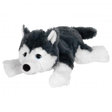 М'яка іграшка IKEA LIVLIG собака/сибірський хаскі (904.142.70)