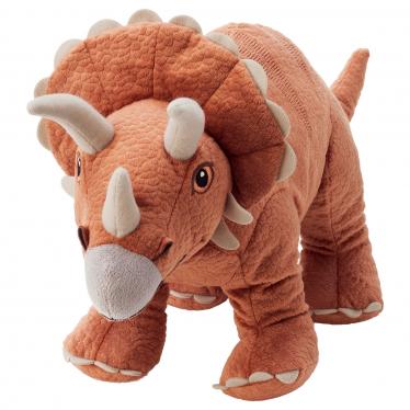 М'яка іграшка IKEA JATTELIK динозавр/трицератопс (604.711.77)