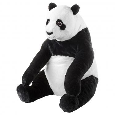 М'яка іграшка IKEA DJUNGELSKOG панда/чорно-біла (804.028.09)