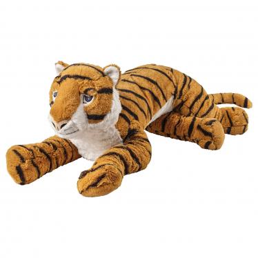 М'яка іграшка IKEA DJUNGELSKOG тигр (704.085.81)