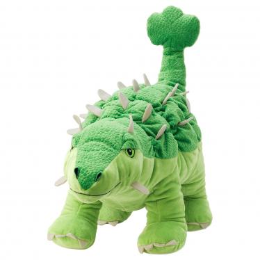 М'яка іграшка IKEA JATTELIK динозавр/анкілозавр (004.711.75)
