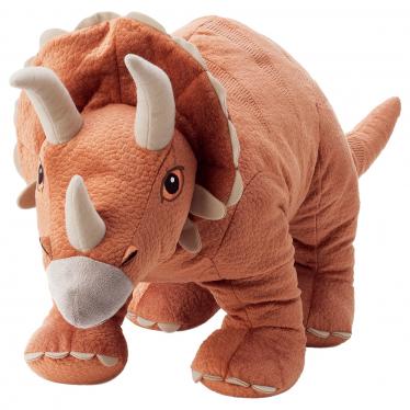 М'яка іграшка IKEA JATTELIK динозавр/трицератопс (704.711.67)