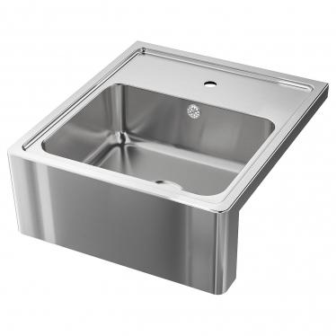 Одинарна мийка з фронтальним виступом IKEA BREDSJON 60x69 см (492.895.56)
