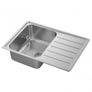 Одинарна мийка з сушкою IKEA VATTUDALEN 69x47 см (691.581.68)