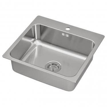 Одинарна мийка IKEA LANGUDDEN 56x53 см (291.574.77)