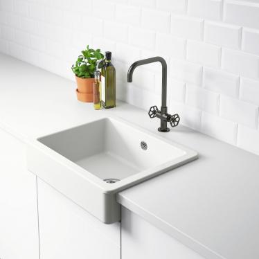 Одинарна мийка з фронтальним виступом IKEA HAVSEN 62x48 см (192.537.14)