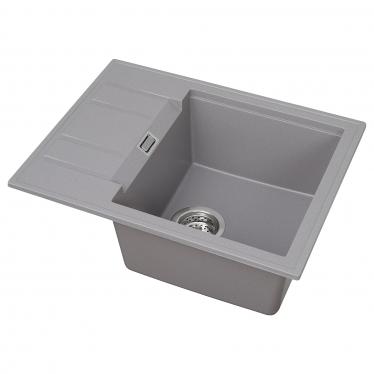 Одинарна мийка з 1/2 сушки IKEA PULINGEN 58х46 см (694.186.23)