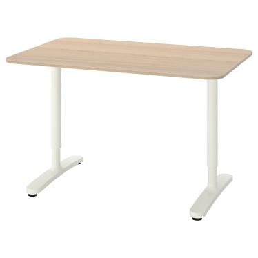 Письмовий стіл IKEA BEKANT 120х80 см дуб (892.825.91)
