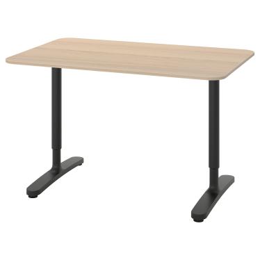 Письмовий стіл IKEA BEKANT 120х80 см дуб (492.825.74)