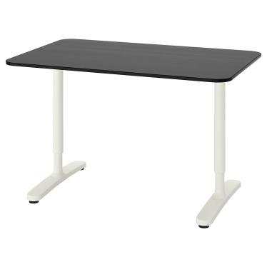 Письмовий стіл IKEA BEKANT 120х80 см чорний (892.825.86)