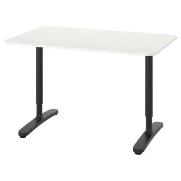 Письмовий стіл IKEA BEKANT 120х80 см білий (590.063.21)