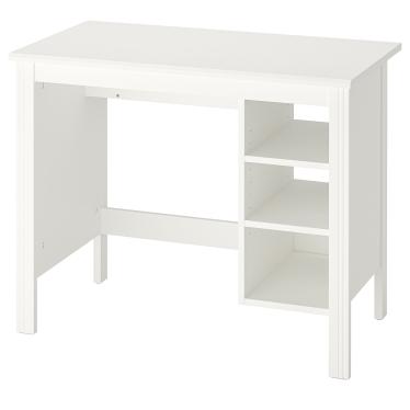 Письмовий стіл IKEA BRUSALI 90х52 см білий (404.397.63)