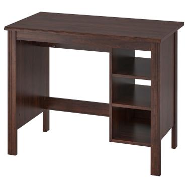 Письмовий стіл IKEA BRUSALI 90х52 см коричневий (303.022.99)