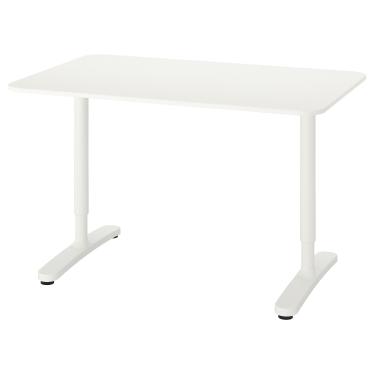 Письмовий стіл IKEA BEKANT 120х80 см білий (190.063.23)