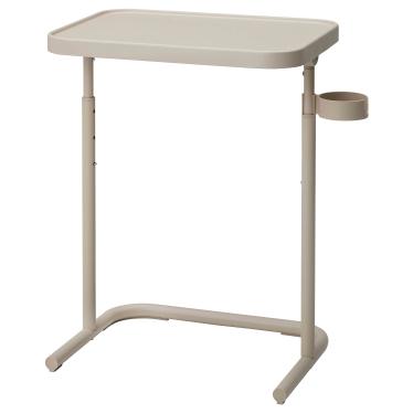 Стіл для ноутбука IKEA BJORKASEN бежевий (904.678.38)