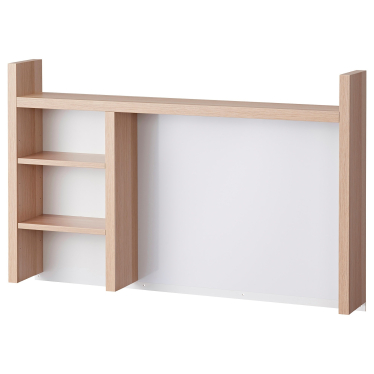 Надставка IKEA MICKE 105х65 см дуб (504.911.85)