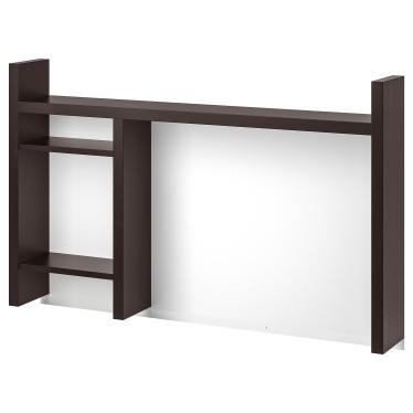 Надставка IKEA MICKE 105х65 см чорно-коричневий (501.800.27)