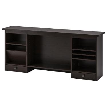 Надставка IKEA HEMNES 152х63 см чорно-коричневий (402.457.03)