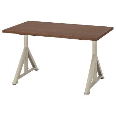 Письмовий стіл IKEA IDASEN 120х70 см коричнево-бежевий (392.810.18)