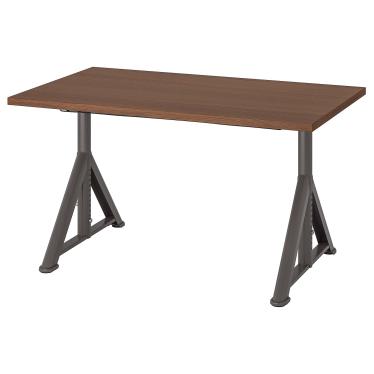 Письмовий стіл IKEA IDASEN 120х70 см корчневий/темно-сірий (492.810.27)