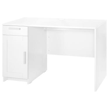 Письмовий стіл IKEA BRIMNES 120х65 см білий (604.857.68)