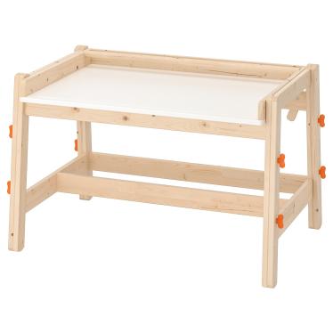 Письмовий дитячий стіл IKEA FLISAT регульований сосна (202.735.94)