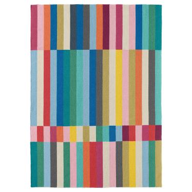 Килим безворсий IKEA HALVED 170х240 см різнокольоровий (203.282.28)