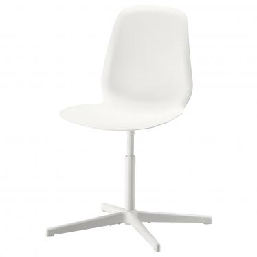 Офісне крісло IKEA LEIFARNE біле Balsberget (493.049.72)