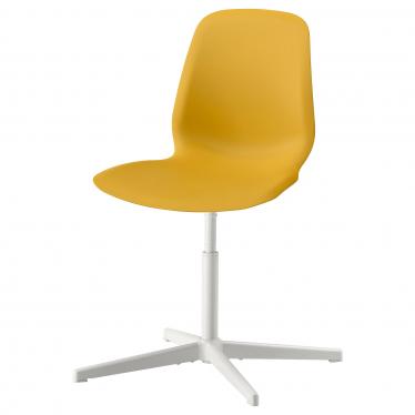 Офісне крісло IKEA LEIFARNE темно-жовте Balsberget (293.017.00)