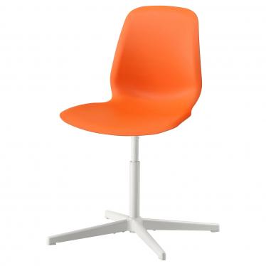 Офісне крісло IKEA LEIFARNE помаранчеве Balsberget (093.049.69)