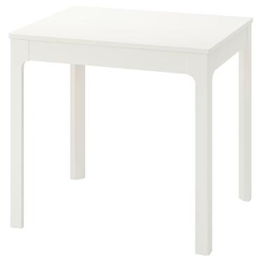 Розкладний стіл IKEA EKEDALEN 80/120 x 70 см білий (703.408.26)