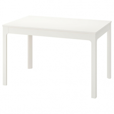 Розкладний стіл IKEA EKEDALEN 120 / 180x80 см білий (703.408.07)
