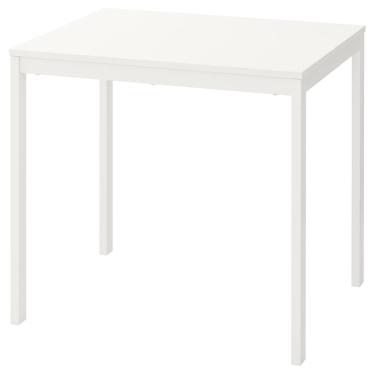 Розкладний стіл IKEA VANGSTA 80/120 x 70 см білий (003.751.26)