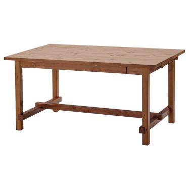 Розкладний стіл IKEA NORDVIKEN 152 / 223x95 см морилка (804.885.44)