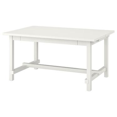 Розкладний стіл IKEA NORDVIKEN 152/223 x 95 см білий (903.687.15)