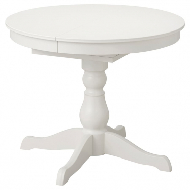 Розкладний стіл IKEA INGATORP 90/125 см білий (304.917.75)