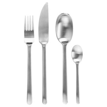 Набір столових предметів IKEA DATA нержавіюча сталь (604.530.22)
